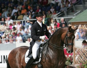 Martin Schaudt and Weltall at the 2005 CDIO Aachen :: Photo © Astrid Appels