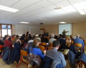 French trainers meet at a two-day seminar in Lamotte-Beuvron