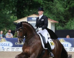 German based Kristy Oatley is Australia's best scoring Grand Prix rider at the moment :: Photo © LL-foto