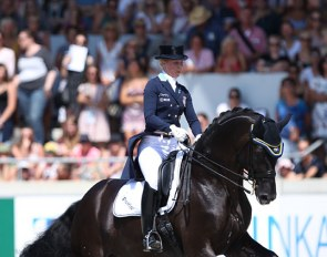 Therese Nilshagen and Dante Weltino OLD at the 2018 CDIO Aachen :: Photo © Astrid Appels