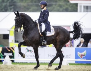 John Thompson and Antonello are the 2018 New Zealand HOYS Champions :: Photo © Libby Law