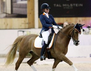 Kiki Romney and Reedborder Amazing at the 2018 CDI Lier :: Photo © Astrid Appels
