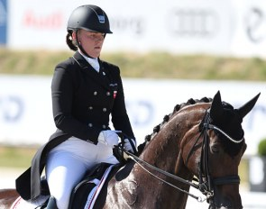 Josefine Hoffmann and Honnerups Driver at the 2018 CDIO Uggerhalne :: Photo © Astrid Appels