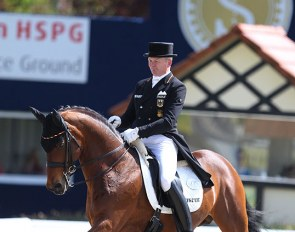 Hubertus Schmidt and Imperio at the 2018 CDI Hagen :: Photo © Astrid Appels