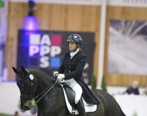 Heike Holstein and Sambuca at the 2019 CDI Lier :: Photo © Astrid Appels