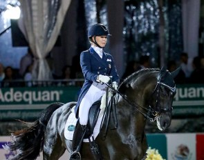 Katherine Bateson Chandler and Alcazar at the 2019 CDI Wellington :: Photo © Sue Stickle