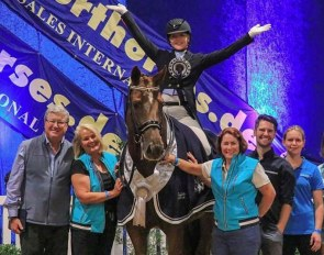 Katherine Farrell and Luxor win the 2019 CDI-W Werribee world cup qualifier