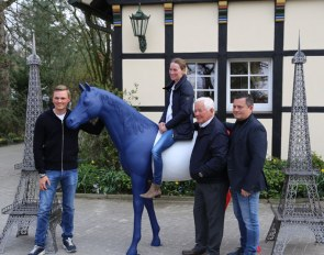 Maurice Tebbel, Helen Langehanenberg, Ullrich und Francois Kasselmann are ready for 2019 Horses and Dreams Meets France