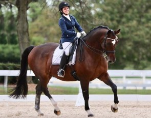 Bridgid Browne is one of four American young riders on the International Dream Program