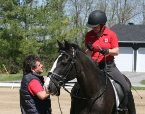 Equestrian Canada Para-Dressage High Performance Technical Leader, Clive Milkins, took a hard look at his approach to coaching at the Canadian High Performance Coach Summit, held April 23-25, 2019 in Montebello, QC. :: Photo ©EC/Jamie-Ann Goodfellow