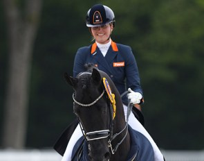 Emmelie Scholtens and Desperado win the CDIO GP Kur to Music at the 2019 CDIO Compiègne :: Photo © Astrid Appels