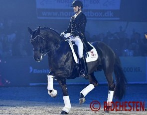 Andreas Helgstrand and Addict de Massa :: Photo © Ridehesten