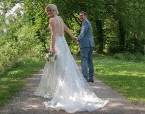 Malin and Steffen Wahlkamp celebrated their church wedding on 25 May 2019
