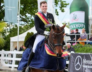 Frederic Wandres and Westminster win the 2019 German Professional Dressage Riders Championship :: Photo © LL-foto