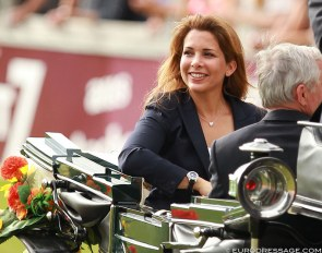 HRH Princess Haya at the 2014 CDIO Aachen :: Photo © Astrid Appels