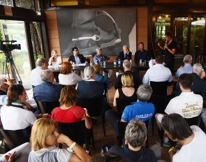 Press conference for the 2019 European Youth Riders Championships