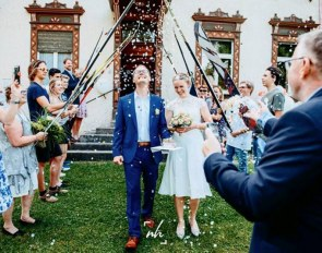 Florian Kuiper and Sina Schäper got married