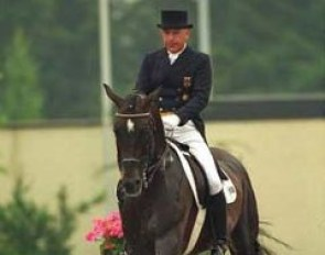 Reiner Klimke and Biotop at the 1995 CDIO Aachen :: Photo © Dirk Caremans