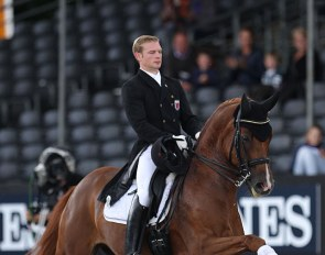 Nicolas Wagner and Quater Back Junior :: Photo © Astrid Appels