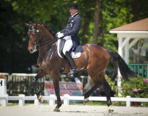 Ludovic Henry and Westwind (aka Wise Guy RS) at the 2015 CDI Compiègne :: Photo © Astrid Appels