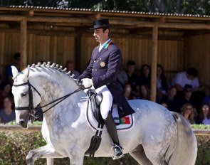 Rodrigo Torres and Fogoso win the 2019 Portuguese Grand Prix Championship at the 2019 CDI Lisbon :: Photo © Rui Pedro Godinho