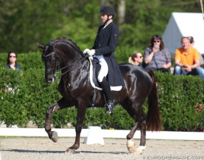 Heiner Schiergen and Aaron at the 2019 CDI Sint-Truiden :: Photo © Astrid Appels