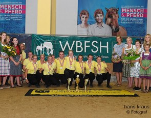 Hanoverian Breed Society, Overall Winner of the 2019 WBFSH World Championships for International Young Breeders :: Photo © Hans Kraus