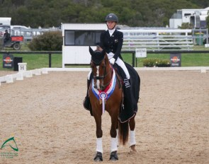 Wendi Williamson and Don Amour MH at the Pacific League Final at Boneo :: Photo © Australian Equestrian Team