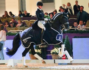 Isabel Freese and Total Hope OLD win the 2019 Nurnberger Burgpokal Finals :: Photo © LL-foto