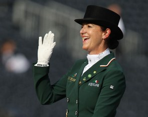 Anna Merveldt at the 2019 European Dressage Championships :: Photo © Astrid Appels