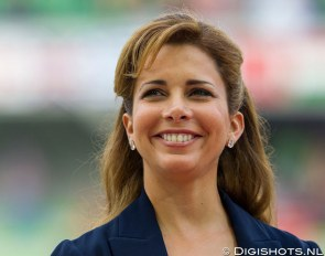 Princess Haya Bint al Hussein at the 2014 World Equestrian Games in Caen :: Photo © Digishots
