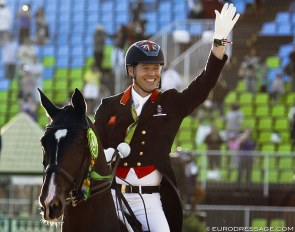Spencer Wilton and Super Nova at the 2016 Olympic Games in Rio :: Photo © Astrid Appels
