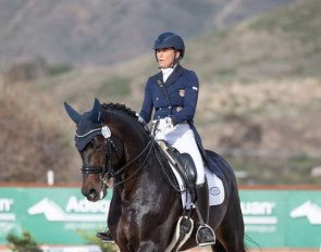 Jennifer Hoffmann and Rondoro Noblesse at the 2020 CDI Temecula :: Photo © Terri Miller