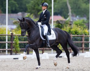 Edward Gal and Toto Jr at the 2020 CDN Schijndel :: Photo © Digishots