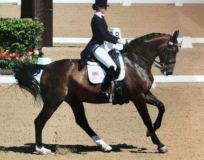 Russki at the 2018 Hartpury CDI***