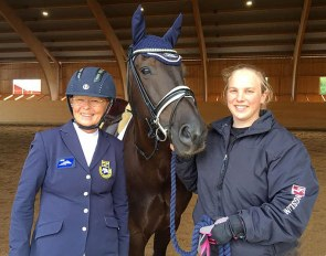 Louise Etzner Jakobsson (left) and Goldstrike BJ