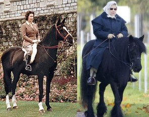 Age with Grace and keep on riding into your 90s like Queen Elisabeth II