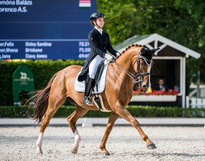 Florenco AS competing at the 2020 CDI Mariakalnok :: Photo © Lukasz Kowalski