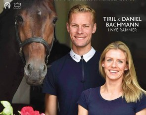 Daniel and Tiril Bachmann on the cover of the Danish equestrian magazine Ridehesten, talking about their new life and business at Stable Kleppenhus in Ebeltoft