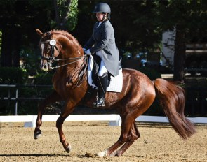 Chelsey Sibley and Don Francisco competing at Rancho Murieta :: Photo © Tamara with the Camera