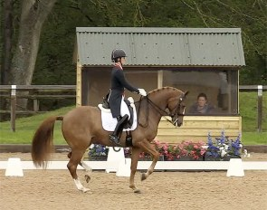 Charlotte Dujardin and Gio in the GP Special at the 2021 CDI Wellington