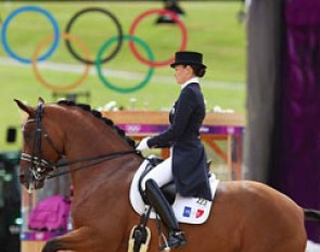 Jessica Michel-Botton at the 2012 Olympic Games in London :: Photo © Astrid Appels