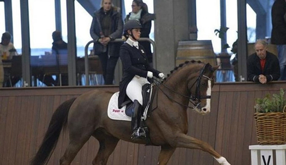 Kasprzak and Quarton at the 2018 CDN Asbjerg :: Photo © Ridehesten