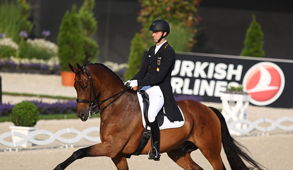 Sönke Rothenberger and Cosmo at the 2019 CDIO Aachen :: Photo © Astrid Appels