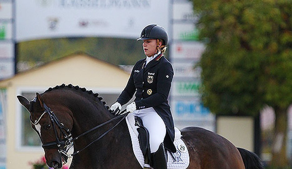 Alexa Westendarp and Hicksteadt at the 2020 CDI Hagen :: Photo © Astrid Appels