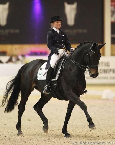 A CDI Show debut for Svenja Meyer-Kamper on her 13-year old Hanoverian mare Rania M