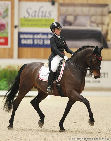 Maja Petersen on Hoejgaards Dexter