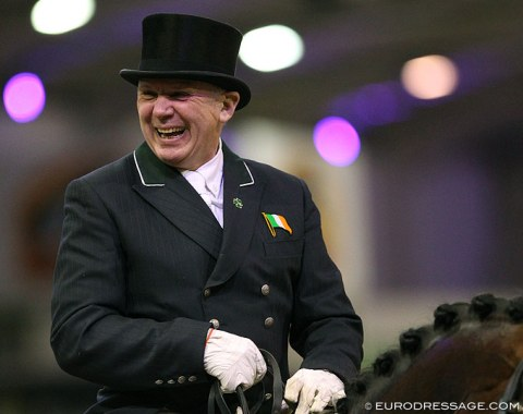 Big smile on the face of CDI Hickstead organizer Dane Rawlins