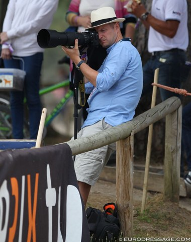 Lukas Kowalski, Polish photographer and long-time Central European league contributor to Eurodressage