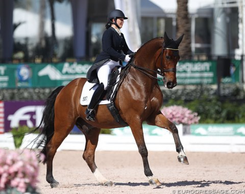 Heather Boo and Divertimento, who was previously shown by Tinne Vilhelmson and Chris von Martels